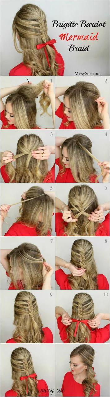 9 Penteados Para Cabelos Lisos