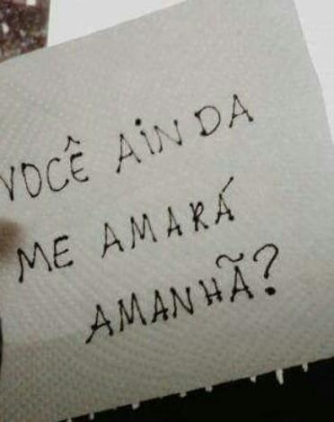 Quem eu amo?